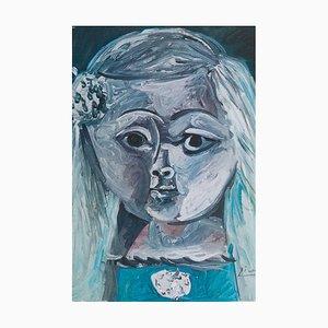 Pablo Picasso (nachher) - La Menina, 1957, Lithographie