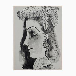 Lithographie d'Après Pablo Picasso