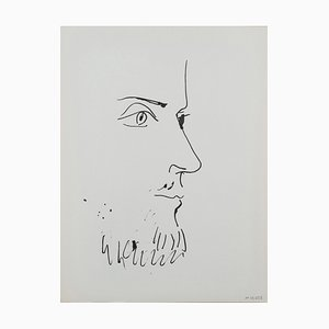 Pablo PICASSO, (nachher) - Lithographie
