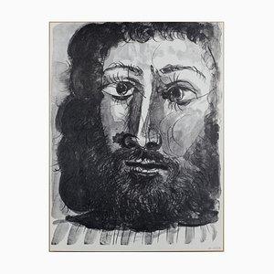 Pablo PICASSO (d'après), Portrait, Lithographie