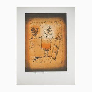 Paul Klee (after) , Winter Trip, 1964 , Signed Lithograph and Stencil