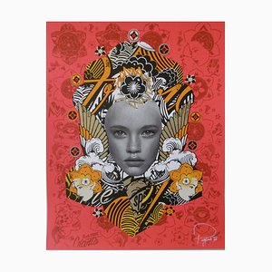 Prefab 77, Lady of rage, 2015, Signed and numbered lithograph