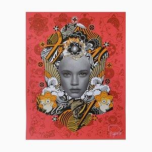 Prefab 77, Lady of Rage, 2015, signierte und nummerierte Lithographie
