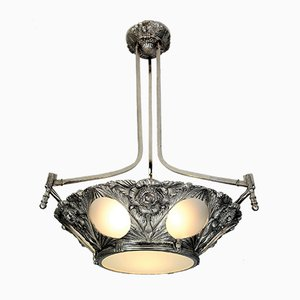 Art Deco French Ceiling Lamp, 1920s