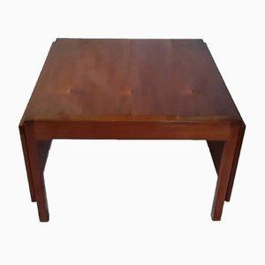 Table Basse Pliable No. 5362 Vintage en Teck par Børge Mogensen pour Fredericia, Danemark, 1960s