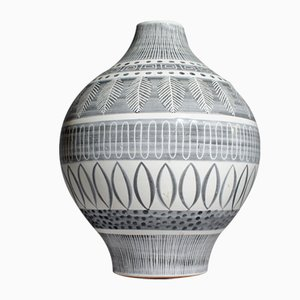 Grafika Vase by Ingrid Atterberg for Upsala Ekeby, 1950s