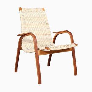 Model Kurva Lounge Chair by Yngve Ekström, 1950s