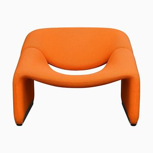 Dutch Model F598 Groovy Lounge Chair by Pierre Paulin for Artifort, 1970s