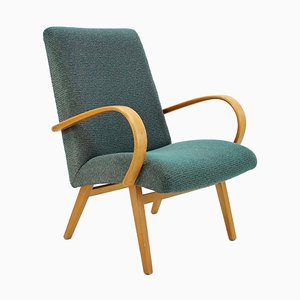 Bentwood Lounge Chair from Thon, 1960s