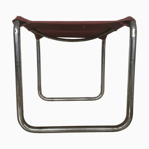 Bauhaus Chrome Stool by Marcel Breuer for Thonet, 1929