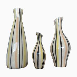 Vasen von Jarmila Formánková für Ditmar Urbach, 1970er, 3er Set