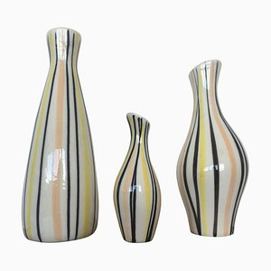 Vases by Jarmila Formánková for Ditmar Urbach, 1970s, Set of 3