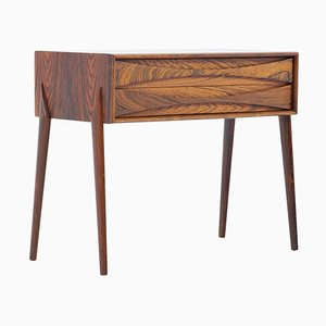 Mid-Century Scandinavian Rosewood Side Table by Rimbert Sandholdt for AB Glas & Trä, 1960s