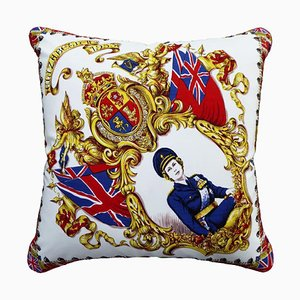 Vintage Queens Crown Cushion