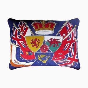Vintage Kissen mit Britischer Flagge