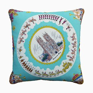 Vintage Westminster Abbey Cushion, 1950s