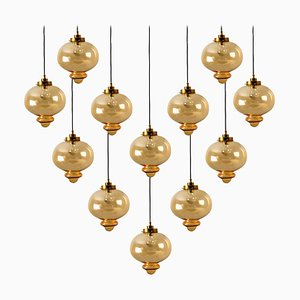 Pendant Lamp in the Style of Raak, 1970s