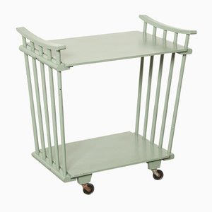 Vintage Mint Green Trolley