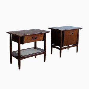 Nightstands in the Style of Wébé, 1960s, Set of 2