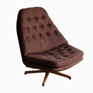 Model MS68 Swivel Chair & Ottoman by Madsen & Schubell for Bovenkamp, 1970s