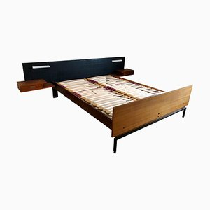 Vintage Teak Bed by Onbekend, 1960s