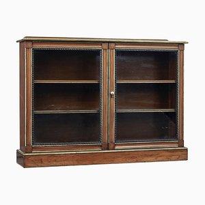 19th Century Walnut and Mahogany Aesthetic Movement Bookcase