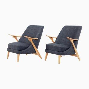 Armchairs by Svante Skogh for Seffle Mobelfabrik, 1950s, Set of 2