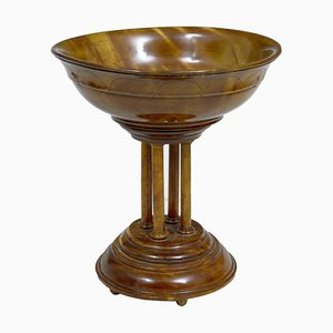 19th Century Italian Walnut Tazza
