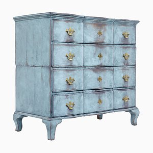 18th Century Scandinavian Painted Oak Commode