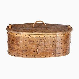 19th Century Swedish Tine Box