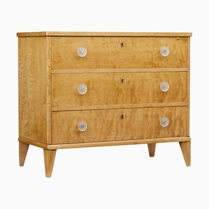 Birch Chest of Drawers, 1950s