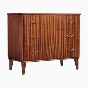 Scandinavian Mahogany Chest of Drawers, 1960s