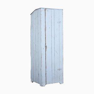 19th Century Scandinavian Painted Pine Kitchen Cupboard