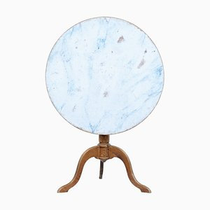 19th Century Swedish Painted Tilt Top Table