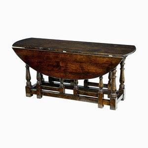 Georgian Style Oak Gateleg Table