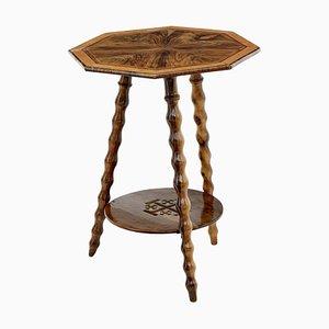 Olive Wood Jerusalem Table, 1900s