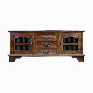 Indonesian Hardwood Decorative Sideboard