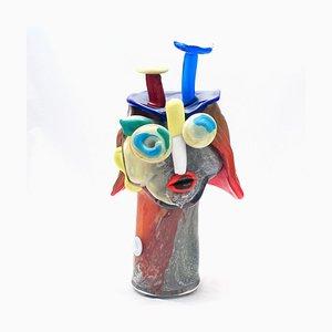 Vintage Head Skulptur von Christoph Kiefhaber