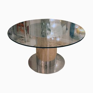 Cidonio Circular Dining Table by Antonia Astori for Cidue, 1960s