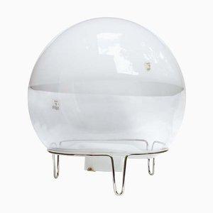 Kugelförmige Tischlampe von Angelo Mangiarotti, 1980er