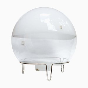 Spherical Table Lamp by Angelo Mangiarotti, 1980s