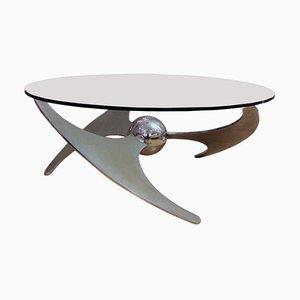 Beistell- oder Esstisch von Luciano Campanini, 1970er
