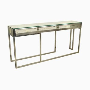 Italian Console Table by Liwans, 1970s