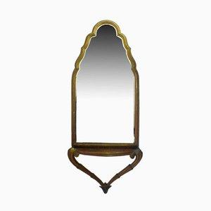 Konsolentisch mit passendem Spiegel, 1910er
