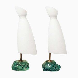 Tischlampen von Roberto Giulio Rida, 2er Set