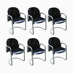 Chaises Vintage par Afra et Tobia Scarpa, Set de 6