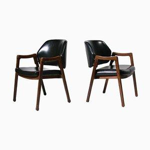 Chaises par Ico Parisi, 1960s, Set de 2