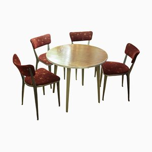 Esstisch & Stühle Set von Ernest Race, 1960er
