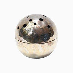 Portafiori sferico di Gio Ponti per Christofle, anni '60