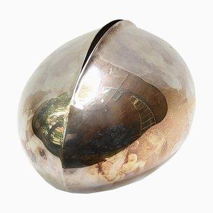 Dekoratives Silber Objekt von Lino Sabattini, 1960er